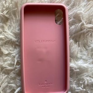 Kate spade silicone stand iPhone X/XS case